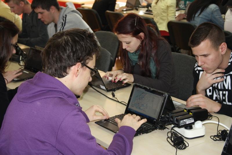Geolearn - internetes vaktérképes verseny