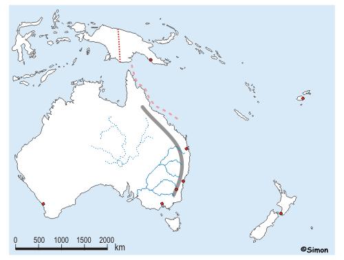 topographie europa